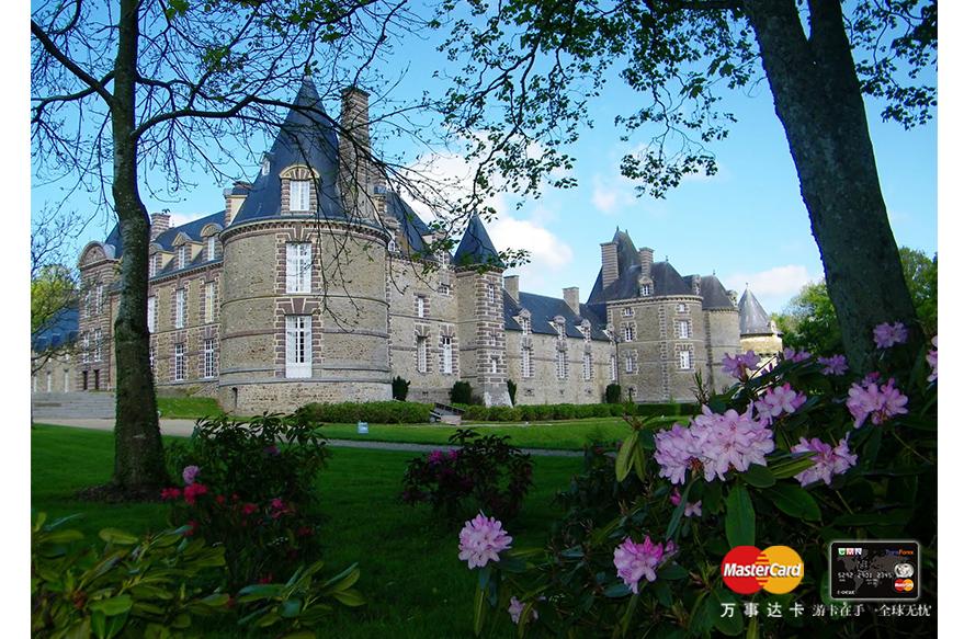法国诺曼底卡尼西城堡